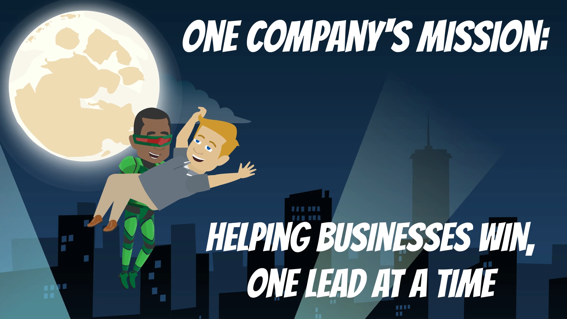 Helping businesses win one lead at a time