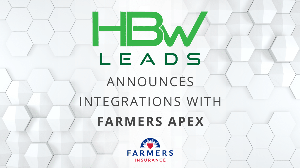 HBW Leads Announces Integration with Farmers APEX